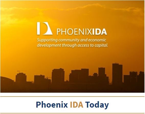 Phoenix IDA Today newsletter header graphic