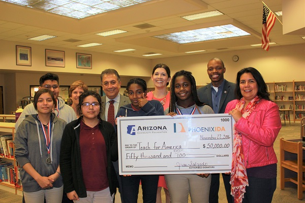 Teach for America Phoenix Check Presentation